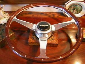 Aston Martin V8 Vantage Nardi Wood Steering Wheel Horn Push Boss