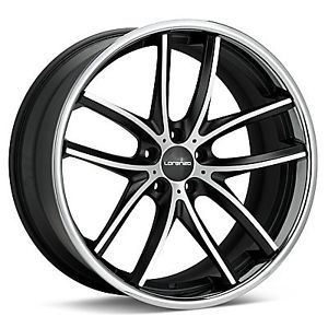 22 inch Lorenzo WL199 Black Wheels Rims 5x120 15 BMW 5 6 7 Series Range Rover