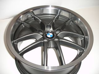 "19"" Ace Spyder Staggered Gunmetal Wheels Rims BMW 5 6SERIES E39 E60 E63 E64"