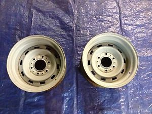 15x8 Chevy Truck Rally Wheels Pair GM GMC