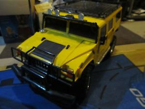 Hummer H1 Fast Lane RC Car 7 2 Remote Controlled Parts Repair Nice 1 6 Scale Big