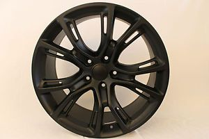 "Staggered 20x9 10"" Matte Black 2012 13 Fit Jeep SRT Grand Cherokee Wheels Rims"