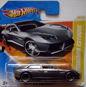 Hot Wheels Lamborghini Estoque 1 64 Silver Paint 2011 HW Premiere