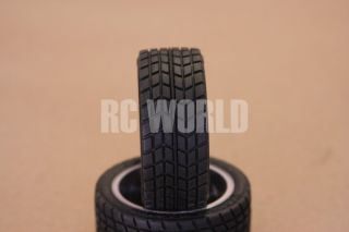 RC 1 10 Tamiya Car Tires Wheels Rims Package Lamborghini Countach