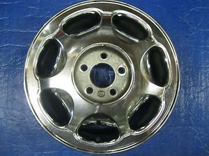 1 Buick LeSabre Park Avenue Riviera Factory Wheel Rim 4020 Chrome 1995 2002