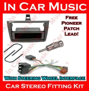 Alfa Romeo Mito Car Stereo Fitting Kit Pioneer Steering Interface Fascia Adaptor