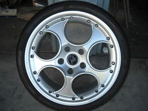 Lamborghini Murcielago 18 inch Front Wheel and Tire Speed Line 0051008828