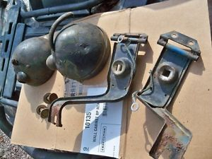 Willys Jeep Parts Ford GPW MB Headlight Buckets Seelite Bulbs