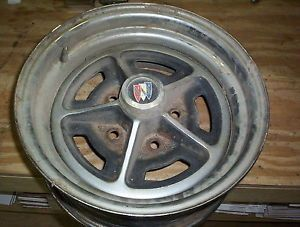 Late 1960 s 1970 s Buick Skylark Factory Rally Wheel Rim 14x6 Chrome