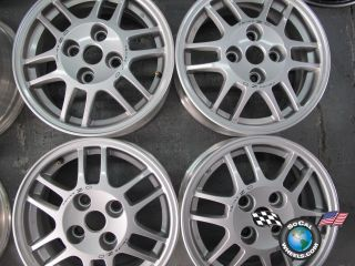 Four 02 07 Mitsubishi Lancer Factory 15 Wheels Rims 65806 MN1019027 4x100