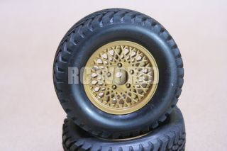 RC 1 10 Tamiya Jeep Wrangler Wheels Tires