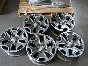 "5 17"" Jeep Wrangler OE Wheel Wheels Rims Alloys 9118"