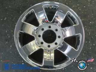 One 08 09 Hummer H2 Factory 20 Wheel Chrome Rim 6310 9596680