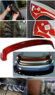 Rear Window Roof Wing Spoiler Painted for Kia All New Picanto 2011 2012 2013