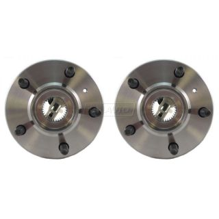Chevy Buick Pontiac w ABS Front Wheel Hub Bearing Assembly Pair Set