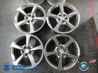 "Four 2013 Chevy Camaro Factory 20"" Wheels Rims 9599039 9599043"