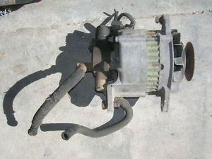 Isuzu C223 C223T Diesel Trooper Pup Alternator with Vacuum Pump