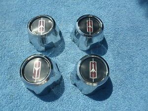 Oldsmobile Cutlass 442 Rally Wheel Center Caps