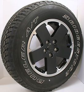 Set of 5 New Take Off 2013 Jeep Wrangler Sport Wheels Rims Tires