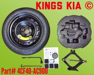New 2011 2014 Kia Optima Compact Spare Kumho Tire Wheel Rim Jack Handle Kit