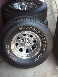Jeep CJ7 Factory Wheels and Tires