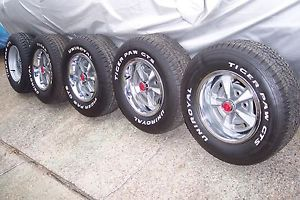 1970 71 Pontiac Firebird Formula 455 Rally Wheels Tires