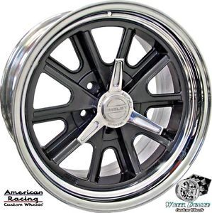 17x7 17x8 American Racing Shelby Cobra VN427 Wheels in Stock Ford Falcon 1967