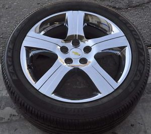 "18"" Pontiac G6 Chevrolet Malibu Chrome Wheel Rim Tire Factory Wheel 6633"