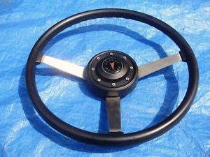 70s Pontiac Black Sport Steering Wheel Firebird GTO Grand Prix LeMans