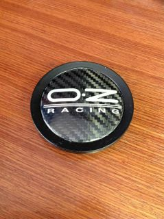 Oz Racing Black M623PORB Wheel Center Cap 76mm Carbon Fiber M623 Porsche