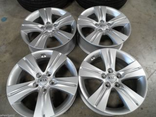 "17"" Kia Sportage Sorento Optima Soul Alloy Wheels 5x114 Rims 18 20"