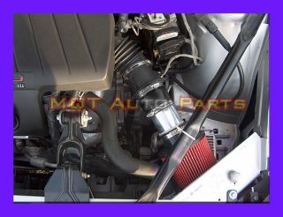 Black Red Oldsmobile Intrigue 3 5L V6 GL GX GLS Sedan Air Intake Kit 1999 2002