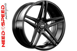 "20"" XO Caracas Matte Black Concave Wheels Rims for Land Rover Range Rover Evoque"
