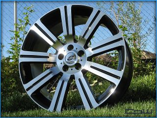 "22"" Land Range Rover HSE Supercharged LR4 Stormer II Wheels Rims Set of 4"