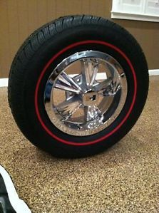 Show Quality Original Hurst Wheels and Matched Trim Rings