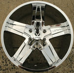Lorenzo WL030 20 x 8 5 Chrome Rims Wheels Lincoln Mark Lt 06 08 6H 38