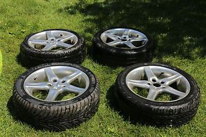 "Audi VW 17"" Moda R6 Wheels Rims and Tires 225 45 17"