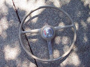 1939 1941 Pontiac Steering Wheel Restored