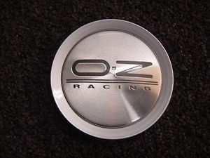 "Oz Racing Wheels Chrome Center Cap Hubcap Part M623 Grey Letters 3"" inch Dia"