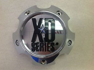 KMC XD Series XD 796 797 798 Ford 6 Lug Chrome Wheel Center Cap 1079L140A 6x5 5
