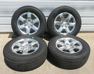 "New 2014 GMC Sierra Yukon Yukon XL Denali 1500 18"" Polished Alloy Wheel Tire"