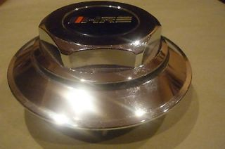 "HRE 505 ""Hayashi Racing Enterprises"" Chrome Lug Nut Cover and Center Cap"