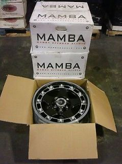 New Set Mamba M4 Alloy Truck Wheels 18x9 6x139 7 6x5 5 12 Offroad Rims 6 Lug