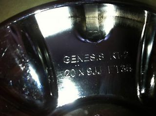 Genesis RT II Chrome Center Cap
