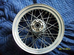 Harley Spoke Front Rim Wheel Road King Street Glide Ultra Dual Rotor Set Up