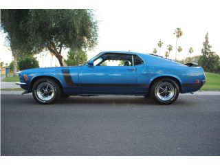 1970 Ford Mustang Boss 302 Deluxe Marti Report 's Matching 1 of 1 Restored