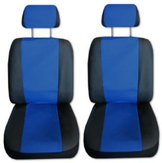 Comfort Racing Z Blue Black Car Truck Seat Covers Set with EXTRAS G
