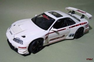 Nissan Skyline GTR Tuner Drift Racer Muscle Machines 1 18 Diecast Race Car