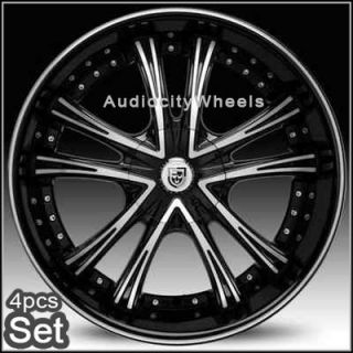26inch Rims Wheels Chevy Ford RAM Lexani Escalade