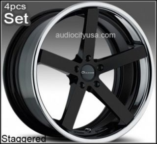 "22"" for Mercedes Benz Wheels C CL s E S550 ml Giovanna Mecca Rims"